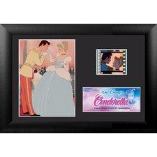 Cinderella Mini FilmCell Presentation Framed Vintage Advertisement