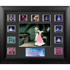 Cinderella Mini Montage FilmCell Presentation Framed Vintage Advertisement
