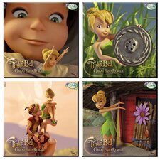 Tinker Bell and the Great Fairy Rescue Glass Print Coaster (Set of 4)