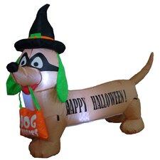 Halloween Inflatable Dog Indoor/Outdoor Decoration