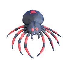 Halloween Inflatable Black Spider Decoration