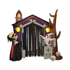 Halloween Inflatable Haunted House Decoration