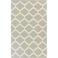 Vogue Gray Geometric Everly Area Rug