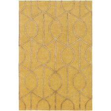 Urban Marie Hand-Tufted Gold Area Rug