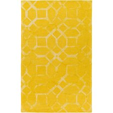 Organic Brittany Hand-Tufted Sunflower Area Rug