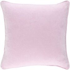 Safflower Ally Cotton Velvet Pillow Cover