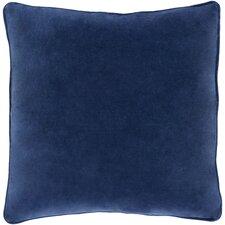Safflower Ally Cotton Velvet Pillow Cover