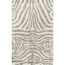 Geology Parker Hand-Tufted Gray Area Rug