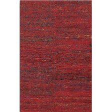 Chic Red Rug