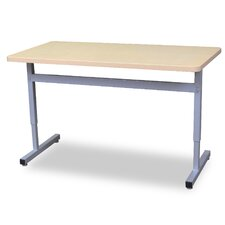 Une-T 2 Laminate Adjustable Height Standard Desk