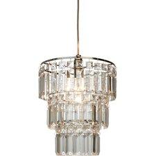 23 cm Trommel-Lampenschirm Victoria aus Kristallglas