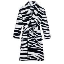Wild Zebra Robe