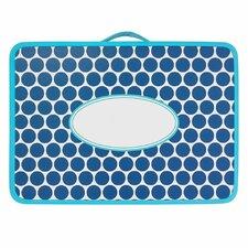 Blue Dots Lap Desk