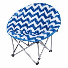 Chevron Moon Kids Novelty Chair