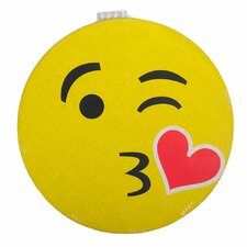 Kissing Emoji Cork Bulletin Board