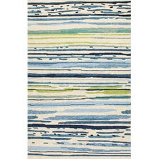 Colours Blue/Green Abstract Indoor/Outdoor Area Rug