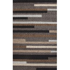 Catalina Gray/Taupe Geometric Indoor/Outdoor Rug
