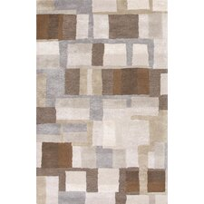 Blue Gray/Brown Area Rug