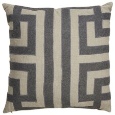 Cosmic By Nikki Chu Geometric Pattern Linen Throw Pillow