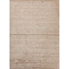 Basis Hand-Loomed Bone White/Simply Taupe Area Rug