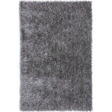 Flux Cool Gray Shag Area Rug