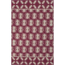 Traditions Made Modern Cotton Flat Weave Cotton Cordovan/Ivory Area Rug