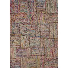 Darien By Rug Republic Recycled Multi Textured Area Rug