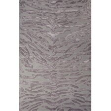 National Geographic Home Collection Tufted Wool and Viscose Gray Hand Tufted Area Rug