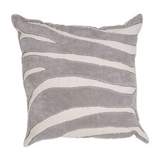 Charmed Animal Print Cotton Throw Pillow