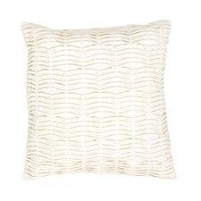 Petal Solid Cotton Throw Pillow