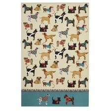 Hound Dog Tea Towel
