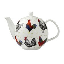 Rooster Bone China Teapot