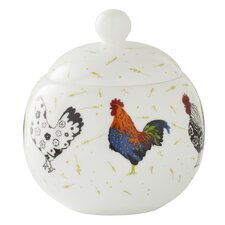Rooster 10cm Bone China Sugar Bowl