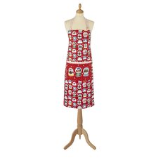 Snow Globes Cotton Apron