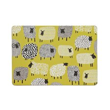 Dotty Sheep Placemats (Set of 4)