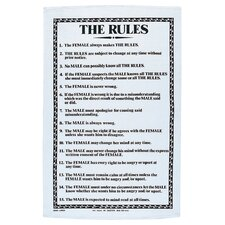 The Rules Tea Towel