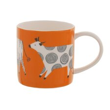 Curious Cows Straight Sided Mug (Set of 4)