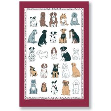 Dogs Galore Tea Towel