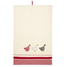 Gingham Geese Tea Towel