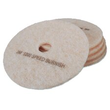 "Ultra High-Speed TopLine 20"" Floor Burnishing Pad (Set of 5)"