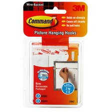 Command Wire Picture Hanging Hook (3 Count)
