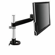 Dual-Swivel Monitor Arm Height Adjustable Desk Mount
