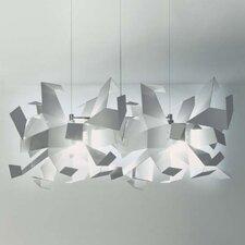 Design-Pendelleuchte 2-flammig Glow