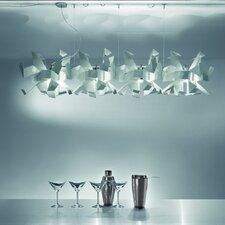 Design-Pendelleuchte 4-flamig Glow