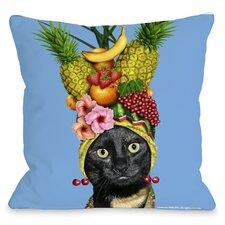Pets Rock Fruit Throw Pillow
