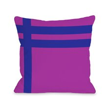 Meeting StripesThrow Pillow