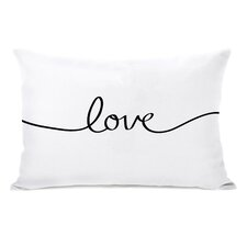 Love Mix and Match Reversible Lumbar Pillow