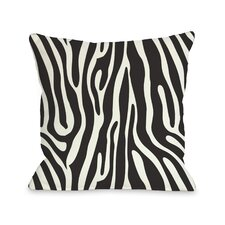 Raffi Zebra Throw Pillow