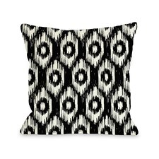 Kelly Ikat Throw Pillow