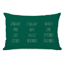 Months Lumbar Pillow